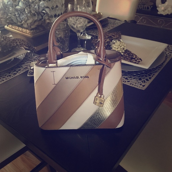 0ffea60001af MICHAEL Michael Kors Bags | Authentic Michael Kors Adele Medium ...